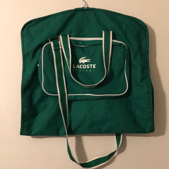 f8b0328b05 Lacoste Bags | Parfums Garment Bag | Poshmark